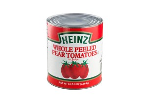 HEINZ WHOLE PEELED PEAR TOMATOES 2.89KG