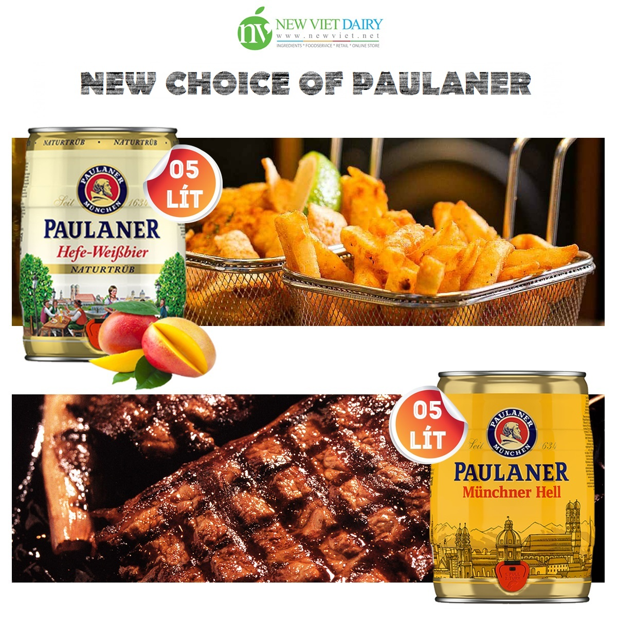 PAULANER – More choices for the gourmet