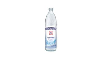 Gerolsteiner Sparkling Mineral Water 750ml (glass bottle)