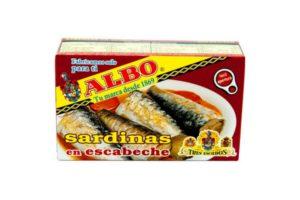 Albo Sardines Olive Oil 8/12 120g