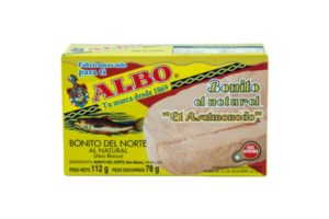Albo Yellow Tuna In Brine 112G