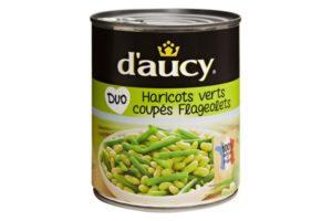 D'aucy Green & Flageolet Beans Combo