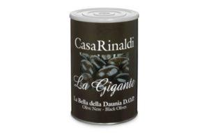CASA R. LA BELLA DE CERIGNOLA DOP BLACK OLIVES 4.25KG