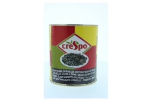 CRESPO SLICED BLACK OLIVES 2840ML