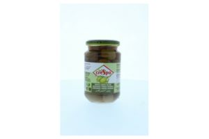 CRESPO WHOLE GREEN OLIVES 370ML/935ML