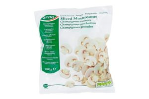 Ardo Sliced Mushrooms 1kg