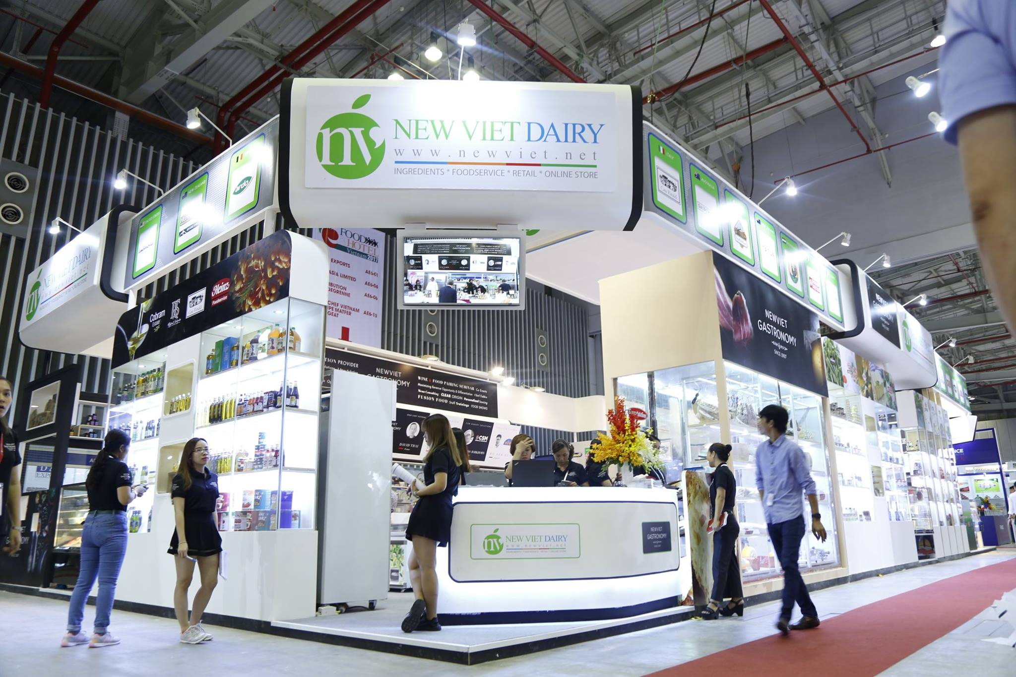 New Viet Dairy in Food&Hotel Vietnam 2017 – Our effort, our success