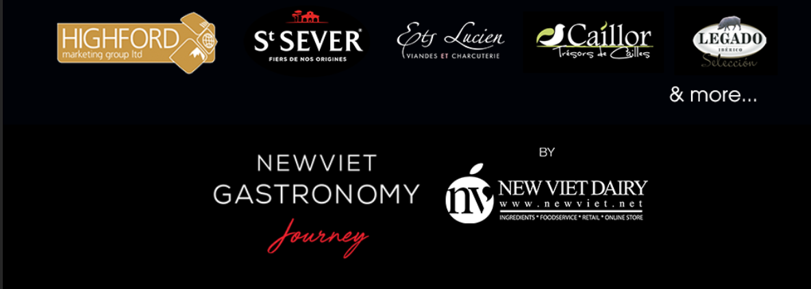 DISCOVER THE PROFESSIONAL BRANDS FOR MEAT & SEAFOOD PRODUCTS AT THE NEW VIET GASTRONOMY JOURNEY